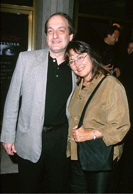 """Premiere: <a href=""""/movie/contributor/1800018798"""">David Paymer</a> and wife at the Mann National Theater premiere of Dreamworks' <a href=""""/movie/1800421220/info"""">The Contender</a> - 10/5/2000<br><font size=""""-1"""">Photo by <a href=""""http://www.wireimage.com"""">Steve Granitz/wireimage.com</a></font>"""