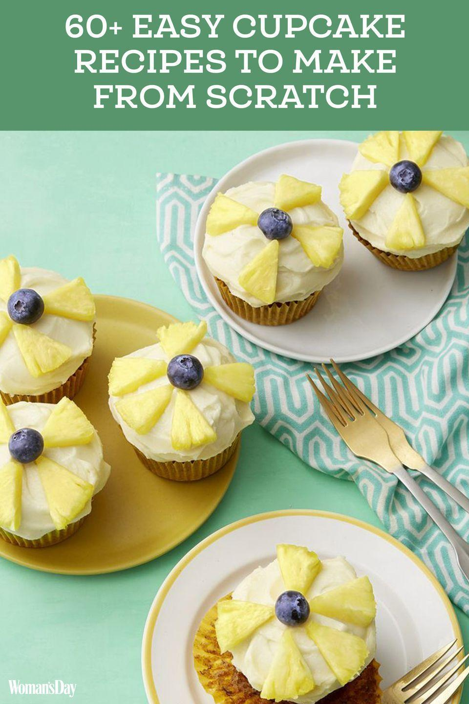 """<p>Save these easy cupcake recipes for later by pinning this image and follow <em>Woman's Day</em> on <a href=""""https://www.pinterest.com/womansday/"""" rel=""""nofollow noopener"""" target=""""_blank"""" data-ylk=""""slk:Pinterest"""" class=""""link rapid-noclick-resp"""">Pinterest</a> for more. </p>"""