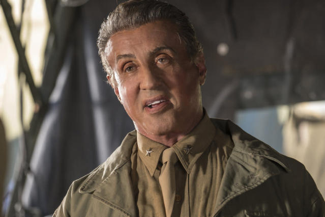<p>Sylvester Stallone as Himself in NBC's <i>This Is Us</i>.<br>(Photo: Ron Batzdorff/NBC) </p>