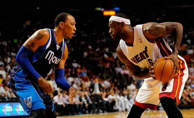 Shawn Marion to join LeBron James on Cavaliers