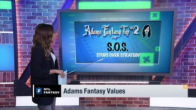 NFL Network s Kay Adams reveals three tips to keep in mind before drafting in fantasy.