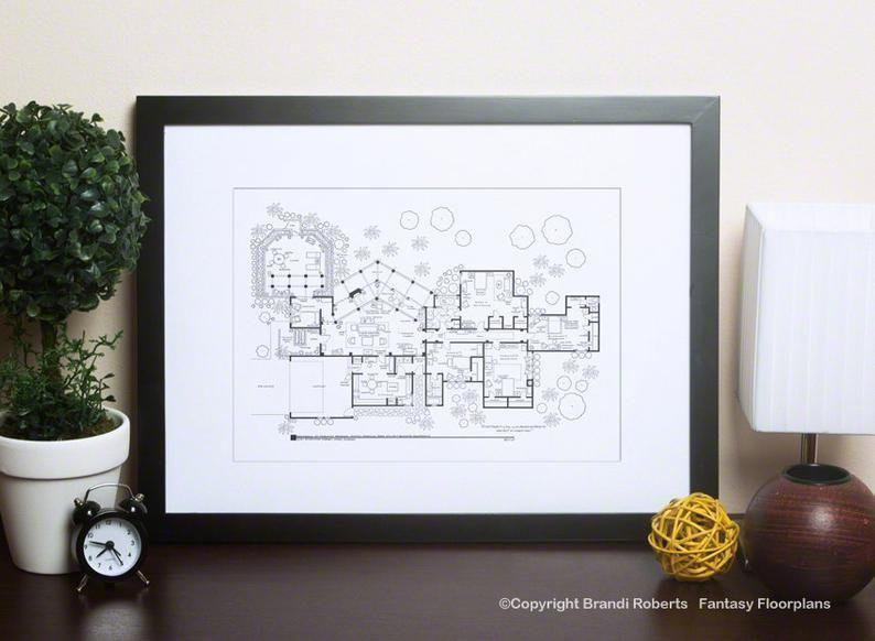"""<p><strong>TVFloorPlans</strong></p><p>etsy.com</p><p><strong>$49.00</strong></p><p><a href=""""https://go.redirectingat.com?id=74968X1596630&url=https%3A%2F%2Fwww.etsy.com%2Flisting%2F241238765%2Fgolden-girls-house-floor-plan-hand-drawn&sref=https%3A%2F%2Fwww.housebeautiful.com%2Fshopping%2Fg29038509%2Fgolden-girls-gift-ideas%2F"""" rel=""""nofollow noopener"""" target=""""_blank"""" data-ylk=""""slk:BUY NOW"""" class=""""link rapid-noclick-resp"""">BUY NOW</a></p><p>People have been scratching their heads over the layout of this <a href=""""https://www.housebeautiful.com/lifestyle/a28986024/the-golden-girls-house-disney-hollywood-studios/"""" rel=""""nofollow noopener"""" target=""""_blank"""" data-ylk=""""slk:house"""" class=""""link rapid-noclick-resp"""">house</a> for years. Now, you can solve that mystery. And call it art.</p>"""