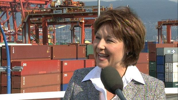 B.C. Liberal Leader Christy Clark is now leading New Democrat Leader Adrian Dix when it comes to who would make the best premier.