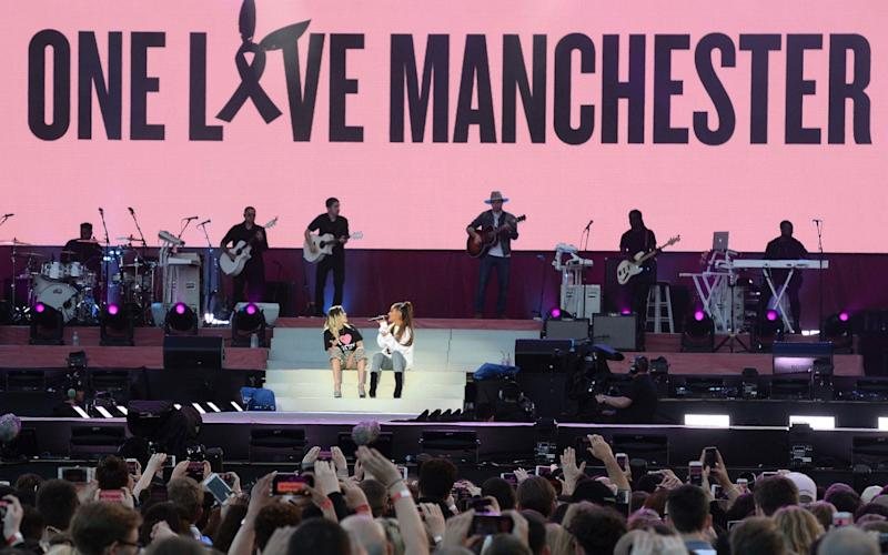 Donations to JustGiving raised  online  - Dave Hogan For One Love Manchester