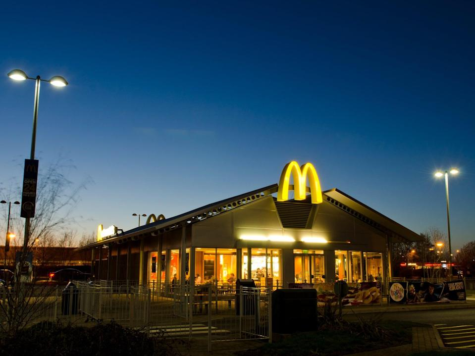 A drive-through McDonald's in Weston-super-Mare (Getty Images)