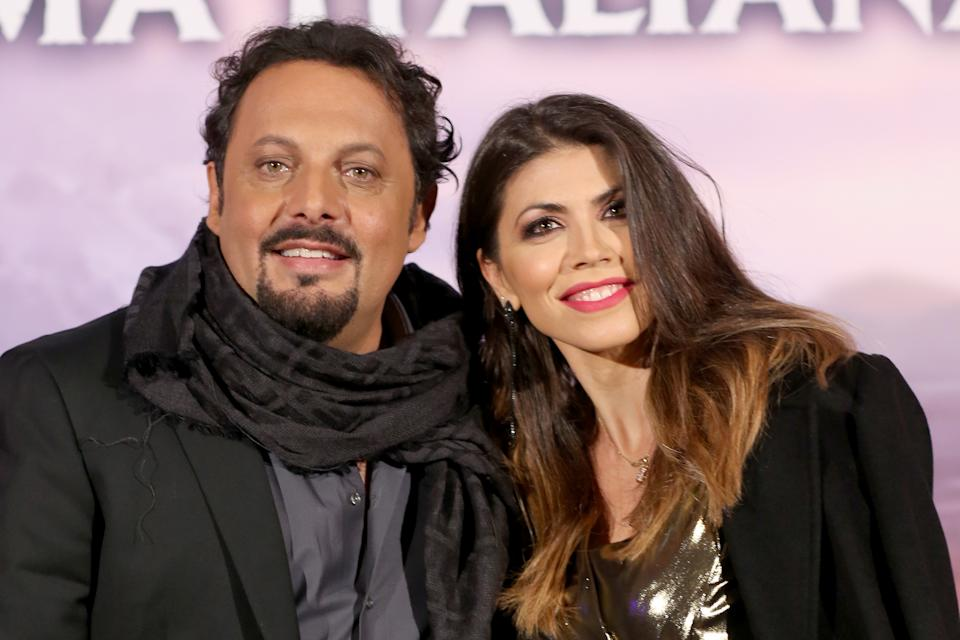 Enrico Brignano e Flora Canto (Photo by Franco Origlia/Getty Images)