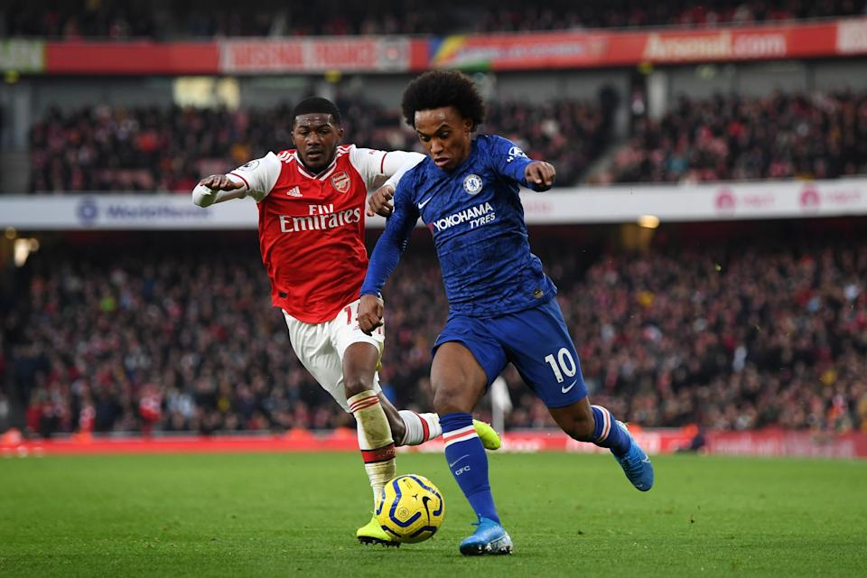 Willian is set to join Arsenal on a three-year contract after leaving Chelsea (Getty Images)