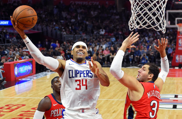 Tobias Harris declined an $80 million extension from the Clippers. (AP Photo)