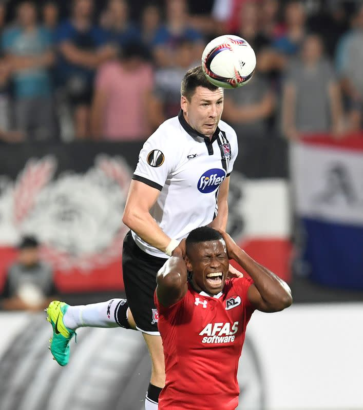FILE PHOTO: AZ Alkmaar v Dundalk FC - Europa League Group Stage - Group D