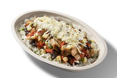 """Fans can also try the Chipotle entrée that inspired Roy's famous reaction. Roy's go-to order, The """"Chipotle Is My Life"""" Bowl, is available on the Chipotle app and Chipotle.com for a limited time. The new menu item features double white rice, black beans, chicken, tomatillo-red salsa, roasted chili-corn salsa, sour cream, and cheese."""