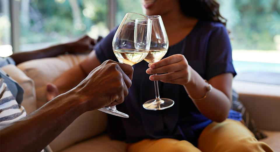 Time to pop the bubbly now Dry January has ended. We have found the top-rated wine cooler so you can enjoy your beverage come wine o'clock. (Getty Images)