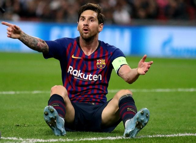 Messi says the club has lacked a project