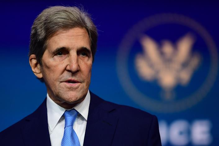 Special Presidential Envoy for Climate John Kerry speaks in DelawareGetty Images