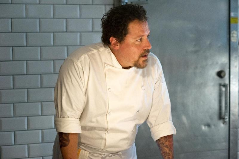 "This image released by Open Road Films shows Jon Favreau in a scene from ""Chef."" (AP Photo/Open Road Films, Merrick Morton)"
