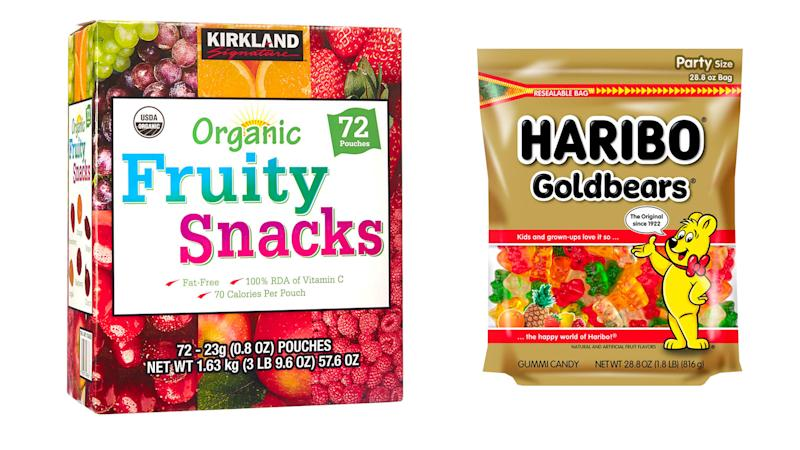 Best cycling nutrition: Gummy bears and fruit snacks