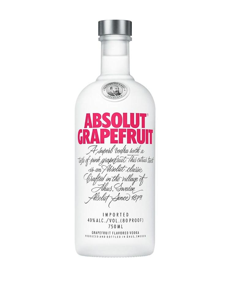 """<p><strong>Absolut</strong></p><p>reservebar.com</p><p><strong>$25.00</strong></p><p><a href=""""https://go.redirectingat.com?id=74968X1596630&url=https%3A%2F%2Fwww.reservebar.com%2Fproducts%2Fabsolut-grapefruit-vodka&sref=https%3A%2F%2Fwww.delish.com%2Fentertaining%2Fg31739426%2Fbest-flavored-vodka-brands%2F"""" target=""""_blank"""">BUY NOW</a></p><p>This grapefruit-flavored vodka is a wonderful combo of sweet and tart, making it perfect for all of your spring and summer cocktails. Plus, it has no added sugar, which is obviously always a bonus. </p>"""