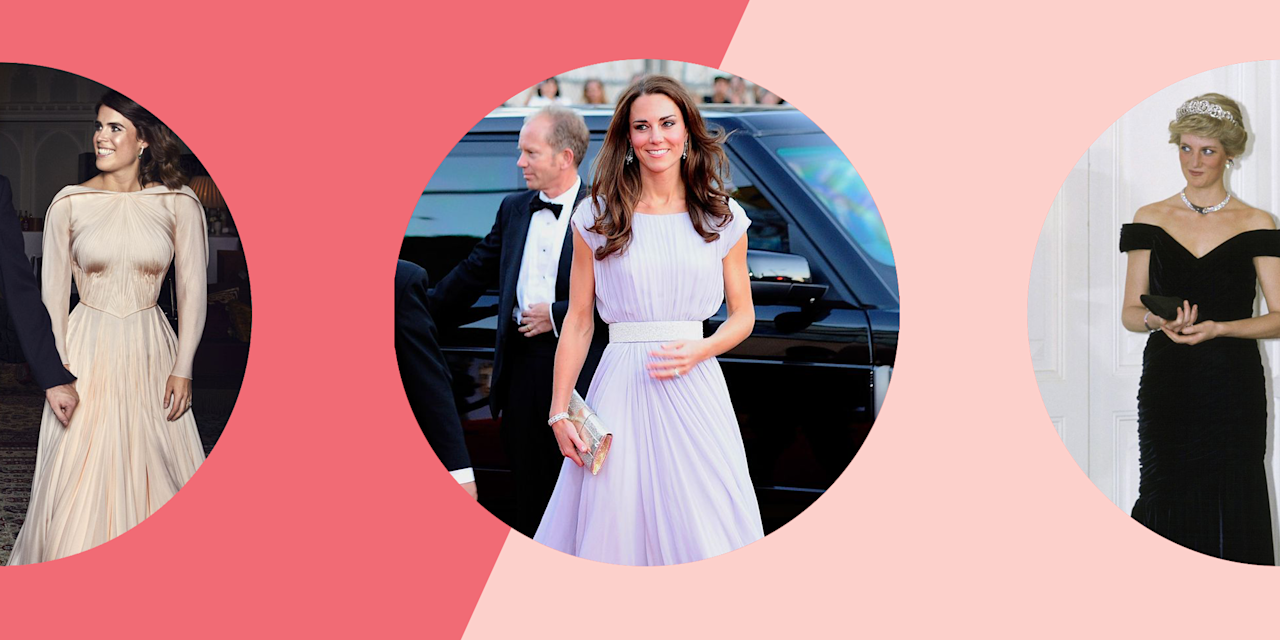 <p>The royal family has no shortage of gorgeous gowns. From Princess Margaret's statement-making dresses to Meghan Markle's royal wedding reception gown, it's basically a royal rite of passage to wear a seriously jaw-dropping design. Here, we've rounded up the greatest royal gown moments of all time. </p>