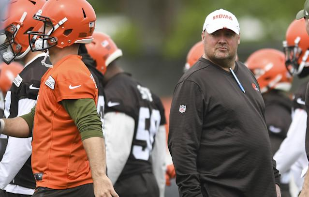 New Cleveland Browns head coach Freddie Kitchens unveiled an interesting new disciplinary policy following a training camp fight on Sunday.