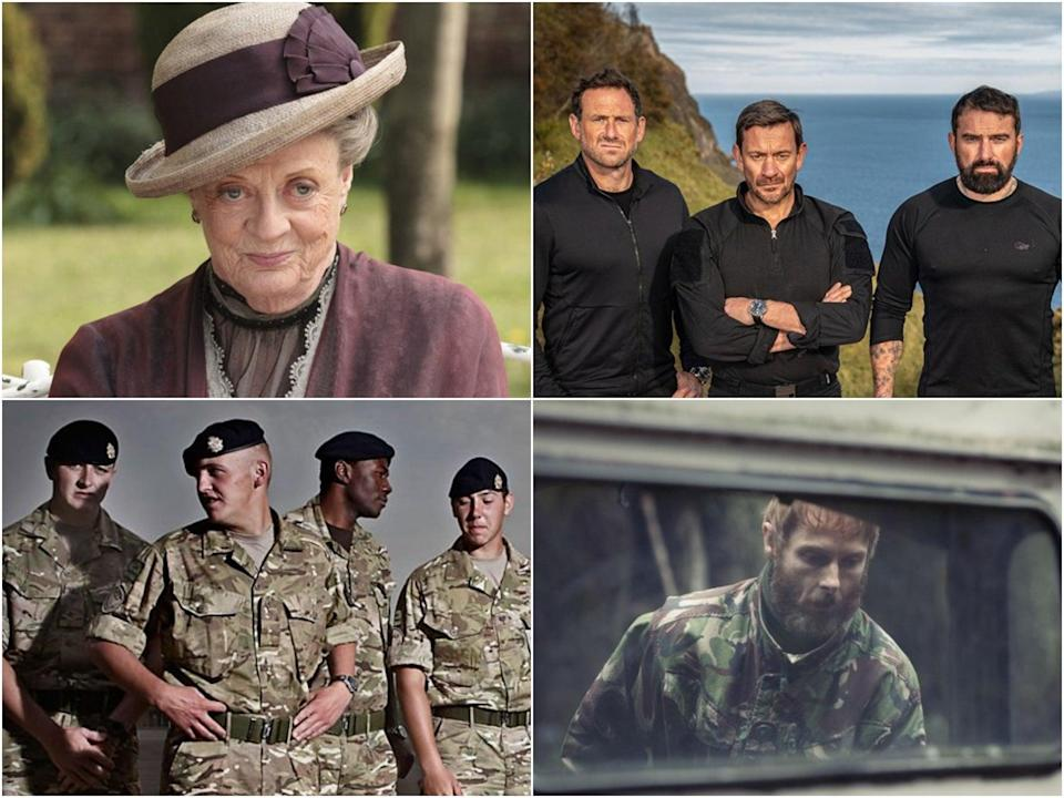 Television celebrating Britain's military identity (ITV/BBC/Channel 4)
