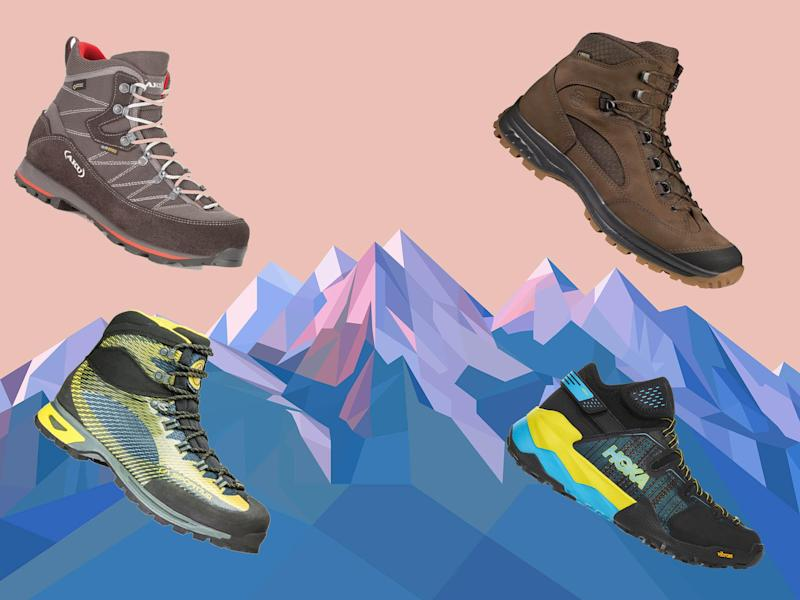 The hiking boot; a must have for anyone even remotely outdoor orientated. Admittedly, they're unlikely to be used on a daily basis – perhaps even just a handful of times per year – but for any kind of inclement weather, that impromptu afternoon walk in the countryside, or a full on hiking holiday in the mountains, you'll be cursing yourself for not having a decent pair when the occasion does arise.Hiking boots have come on a very long way – remove thoughts of an unwieldy weight on your foot – and we now see options from what is essentially a lightweight hybrid trainer right through to those offering full support with a bucket load of spec while still reasonably light.Nearly all hiking boots will be waterproof – Gore-Tex being the most popular and highly regarded – and be equipped with a sturdy and grippy sole – Vibram considered the best in this instance.The vast majority of boots will be made of leather; either nubuck (the outside of the leather is sanded); suede (a more velvety like finish but less durable – this is when the inside part of the leather is sanded and used as the exterior), or just a treated leather finish. They will also come in different weights: lightweight – below 500g which are good for either day or speed hikes; midweight – 500g-700g that are best suited to more arduous terrain; heavyweight – 700g+ which are for rough terrain and long mutli-day hikes and will be very supportive.Before you invest in a pair, consider when you're most likely to be wearing them, as British weather is never that reliable. Three-season boots are the most versatile and useful footwear for walking in the UK, pretty much serving you year round. While two season boots are good in spring and especially the British summer, when the terrain is firm, low-level and not too steep.Hiking shoes are a great alternative to the boot, and well worth considering. They're lighter, cheaper, easier to take on and off, afford a more natural walking style and are more compatible with norm