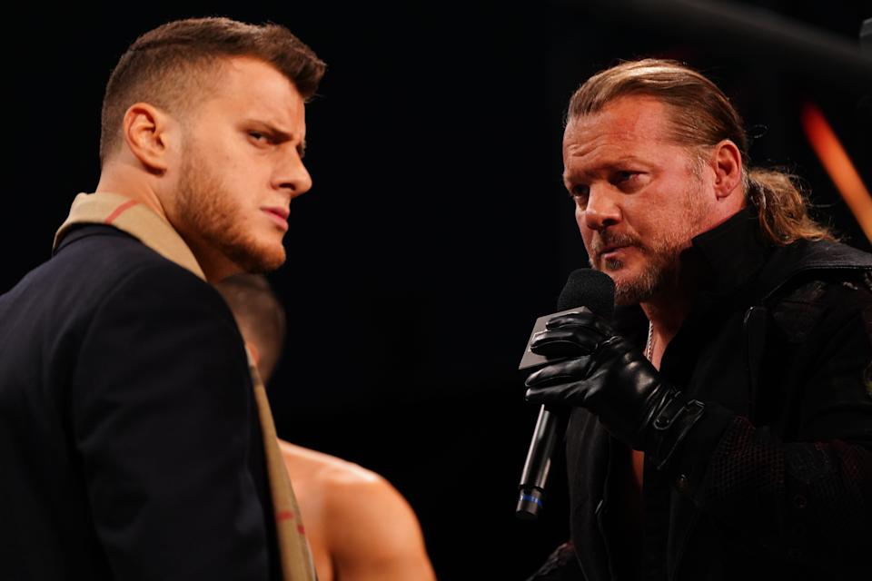 MJF's Pinnacle stable will battle Chris Jericho's Inner Circle in a
