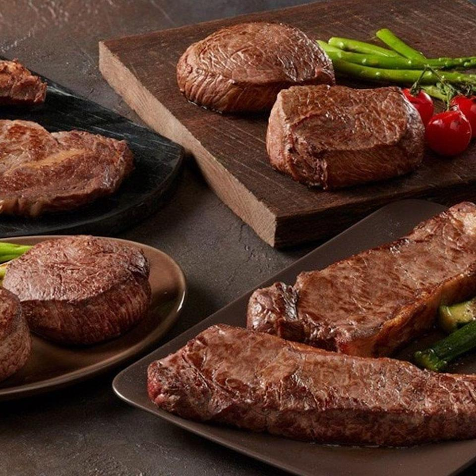 """<p><strong>Chicago Steak Company</strong></p><p>mychicagosteak.com</p><p><strong>$199.95</strong></p><p><a href=""""https://go.redirectingat.com?id=74968X1596630&url=https%3A%2F%2Fwww.mychicagosteak.com%2Fshop%2Fbest-sellers%2Fassortments%2Fchicago-s-best-seller-assrt108.html&sref=https%3A%2F%2Fwww.bestproducts.com%2Flifestyle%2Fg3395%2Fbest-gifts-to-buy-for-yourself%2F"""" rel=""""nofollow noopener"""" target=""""_blank"""" data-ylk=""""slk:Shop Now"""" class=""""link rapid-noclick-resp"""">Shop Now</a></p><p>Chicago Steak Company's ultimate at-home meat feast brings the steakhouse to you with a generous assortment of premium aged cuts. The box includes tender fillet mignons, boneless strips, top sirloins, and ribeyes (two pieces each), so there's plenty to savor solo or share with a crowd. </p>"""