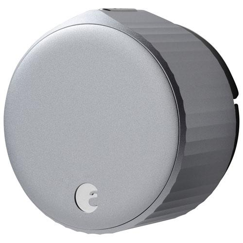 August Wi-Fi Smart Lock (4th Generation). Image via Best Buy.