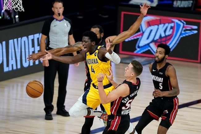Robinson scores 24 points, Heat beat Pacers for 2-0 lead