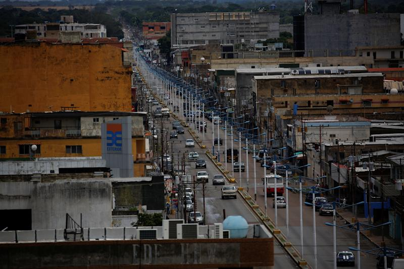 El Tigre city, the hometown of Maroly Bastardo, on June 2. (Photo: Ivan Alvarado/Reuters)