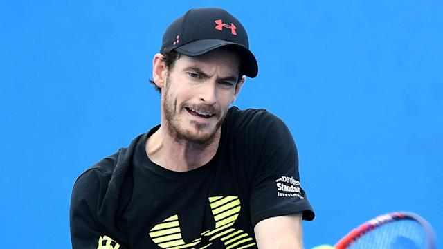 Andy Murray sought out Nick Kyrigos for a practice hit at the Brisbane International, but the 8am get up did not work for the Australian.