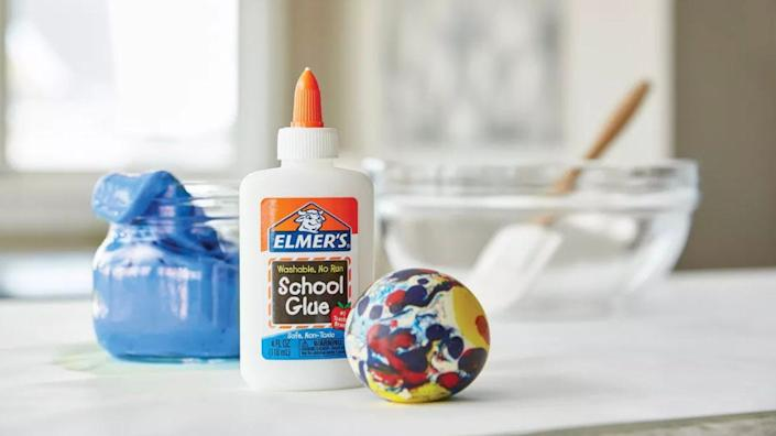 This washable glue is less than a $1 right now.