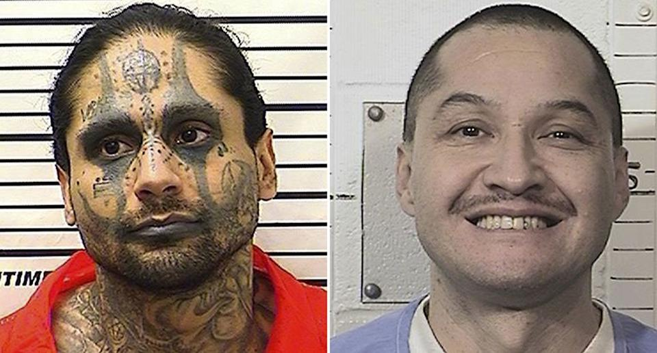Jaime Osuna, a convicted killer, is now being accused of torturing and beheading his cellmate Luis Romero (right). Source: AAP