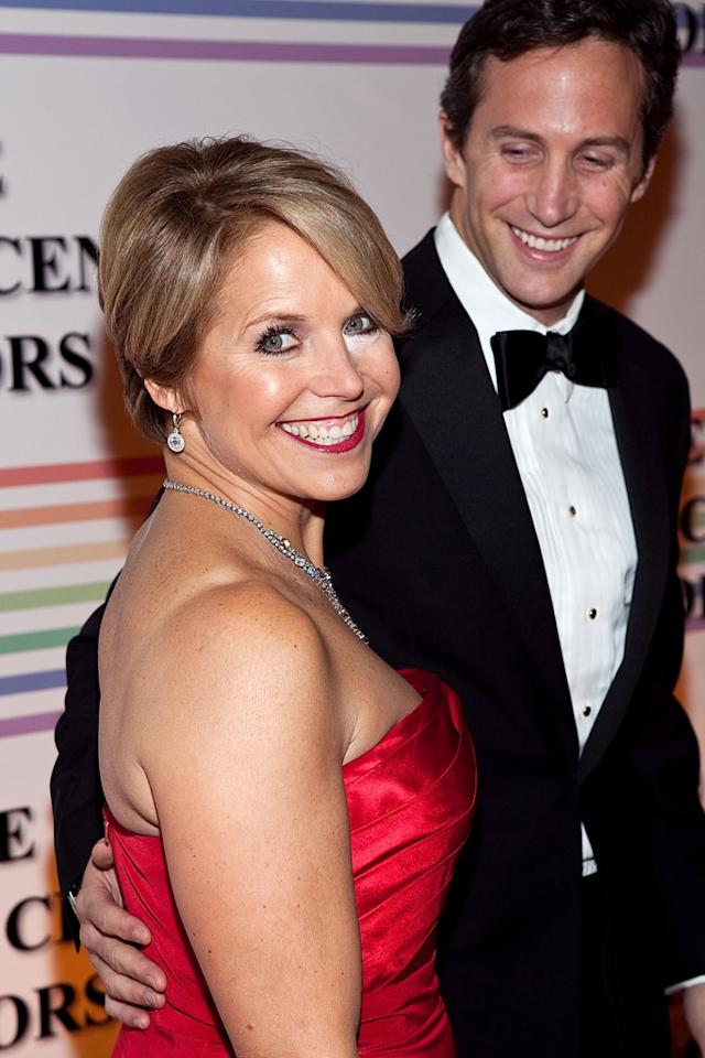 "Speaking of Katie Couric, the TV personality has had her own romance with a younger man! The 55-year-old dated Brooks Perlin, who's 17 years younger than her, for five years until they split in December. At the time, a source told Us Weekly that the numbers factored into the breakup. ""Brook's a nice guy, but it was inevitable because they had different priorities and perspectives, and their age difference made it a challenge, too,"" the source said. Couric's current beau of several months is closer to her age, so perhaps this one will work out? John Molner, the head of mergers and acquisitions at an investment bank and securities firm, is 49. (12/6/2009)"