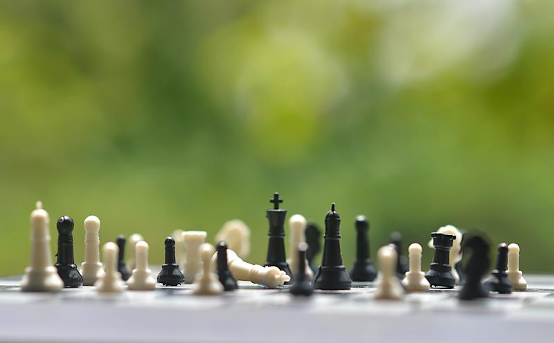 Dr Kevin Bonham explained there is no reason why black can't move first in a casual game of chess. Source: Getty Images