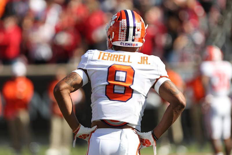 Clemson CB A.J. Terrell is an ascending prospect in the 2020 NFL draft. (Photo by Ian Johnson/Icon Sportswire via Getty Images)