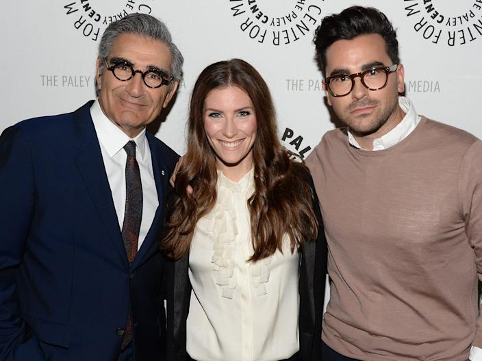 eugene levy sarah levy dan levy 2016