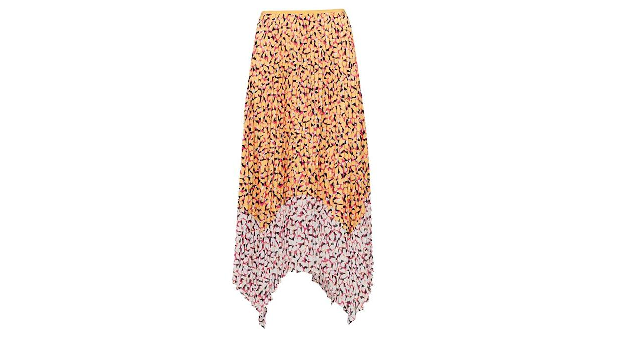 French Connection Ezeke Abstract Midi Skirt