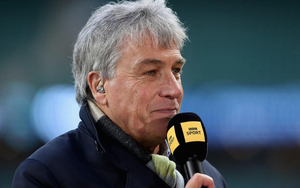 John Inverdale  - GETTY IMAGES