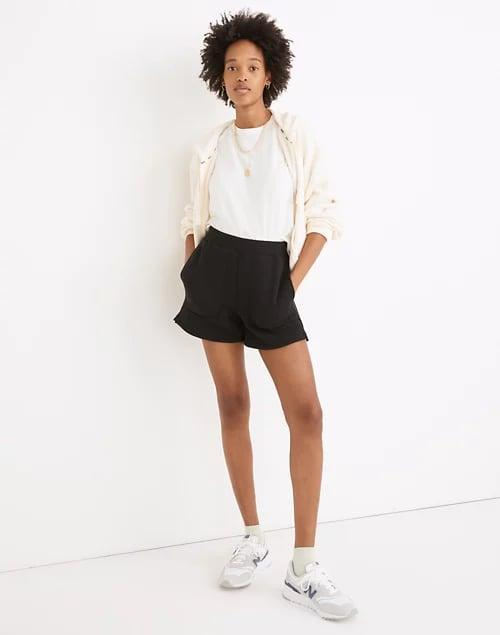 <p>These comfy <span>Madewell MWL Airyterry Stitched-Pocket Sweatshorts</span> ($40) come in four colors.</p>