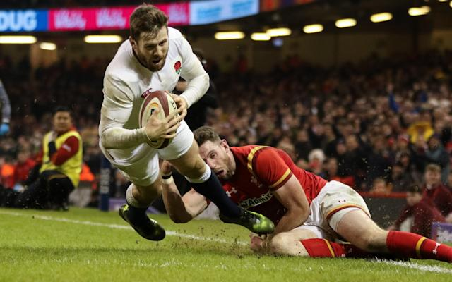 <span>Elliot Daly's try against Wales was a favourite across the board</span>