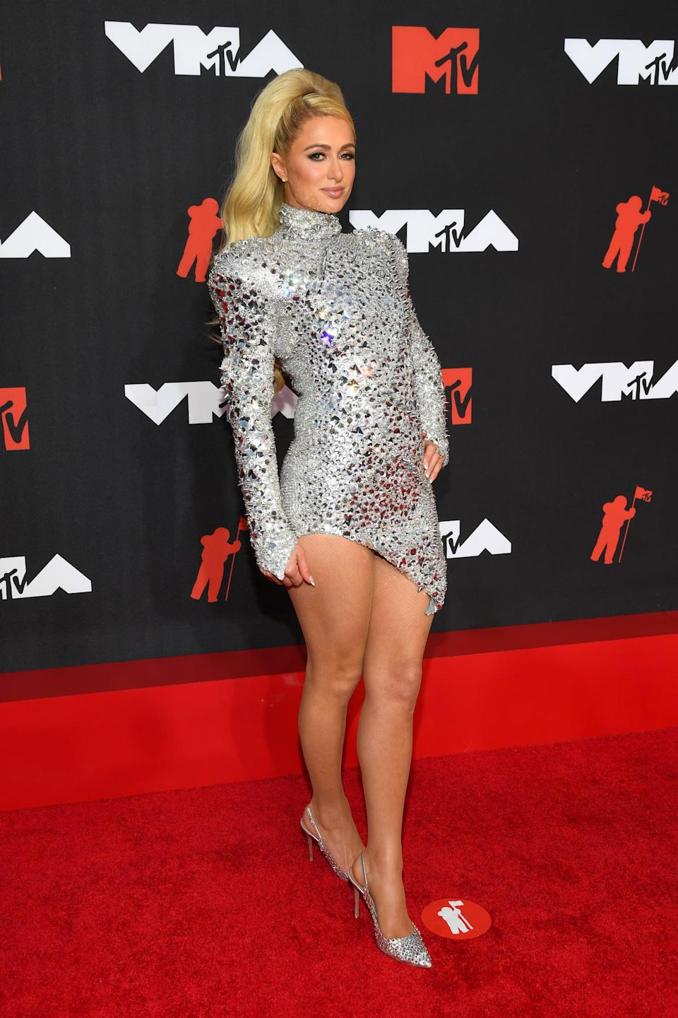 <p>Wearing The Blonds.</p>