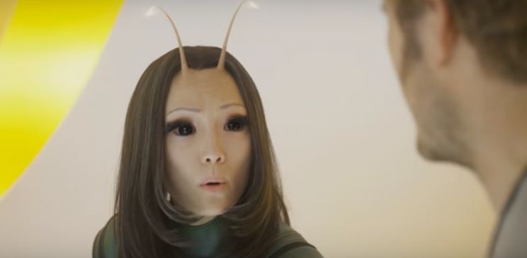 Pom Klementieff as Mantis.