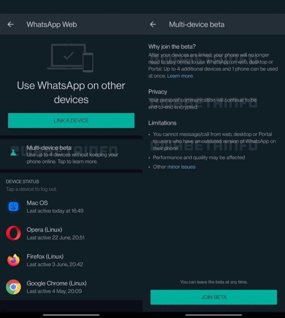 It is also working to let users backup their chat backups to the cloud with end-to-end encryption. — SoyaCincau pic