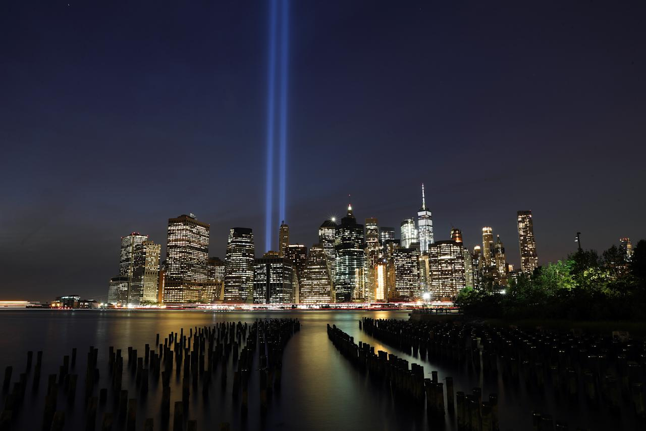 the tribute in light commemorates the 9 11 anniversary