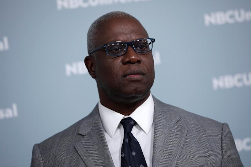 "Actor Andre Braugher from the NBC series ""Brooklyn Nine-Nine"" poses at the NBCUniversal UpFront presentation in New York City, New York, U.S., May 14, 2018. REUTERS/Mike Segar"