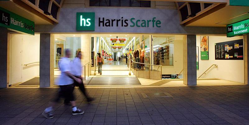 Harris Scarfe enters voluntary administration. Source: Getty