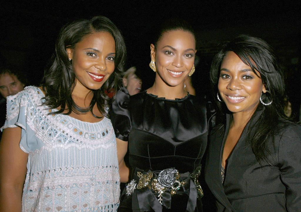 """<a href=""""http://movies.yahoo.com/movie/contributor/1800316707"""">Sanaa Lathan</a>, <a href=""""http://movies.yahoo.com/movie/contributor/1804705859"""">Beyonce Knowles</a> and <a href=""""http://movies.yahoo.com/movie/contributor/1800506132"""">Regina Hall</a> at the Los Angeles premiere of <a href=""""http://movies.yahoo.com/movie/1810003875/info"""">Cadillac Records</a> - 11/24/2008"""