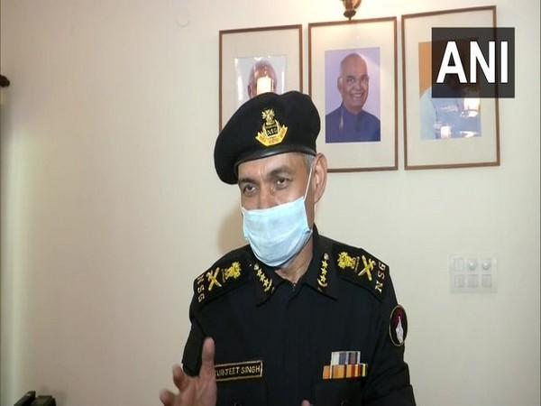 NSG DG SS Deswal talking to ANI on Friday. Photo/ANI