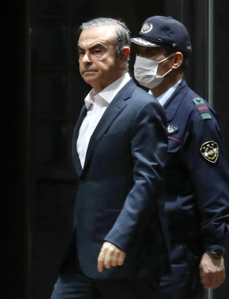 Carlos Ghosn's arrest in Japan threw the Renault-Nissan alliance into disarray (AFP Photo/JIJI PRESS)