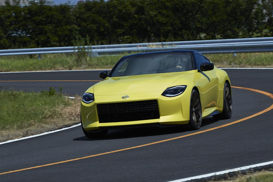 "<p>After what seems like years of waiting, Nissan has finally<a href=""https://www.roadandtrack.com/new-cars/future-cars/a34025425/nissan-z-proto-revealed-photos-specs/"" rel=""nofollow noopener"" target=""_blank"" data-ylk=""slk:unveiled a concept for its new Z sports car"" class=""link rapid-noclick-resp""> unveiled a concept for its new Z sports car</a>. Dubbed the Z Proto, it looks nearly production-ready, with retro design cues taken from past Z cars like the 240Z and 300ZX. </p><p>Nissan has released a full high-resolution gallery of the car for us to gawk at. You're going to want to see this. </p>"